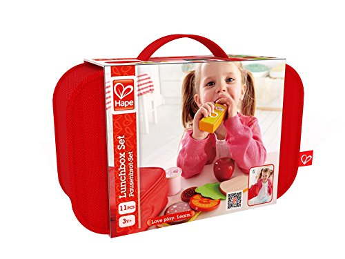 Hape Lunch Box Kid's Wooden Kitchen Play Food Set and Access