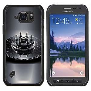 Cubierta protectora del caso de Shell Plástico || Samsung Galaxy S6 Active G890A || Naturaleza Hermosa Forrest Verde 1 @XPTECH