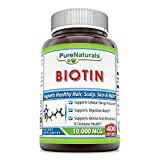 Cheap Pure Naturals Biotin 10,000 Mcg, Capsules- Supports Healthy Skin & Hair – Promotes Overall Good Health (400 Capsules)