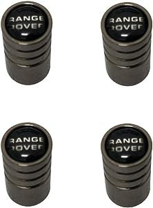 Pervertees Black Chrome Auto Car Wheel Tire Air Valve Caps Tire Decoration For Car Auto Range Rover