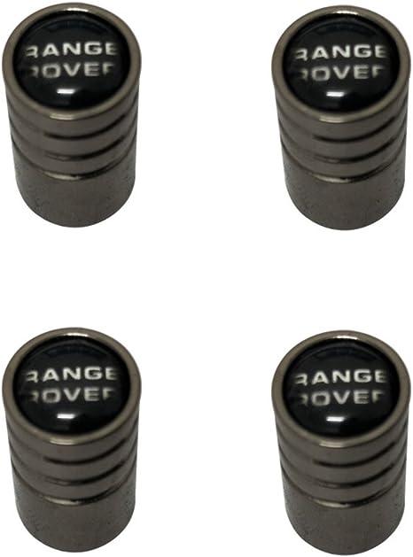 AEMULUS Black Chrome Auto Car Wheel Tire Air Valve Caps Tire Decoration For Car Auto Range Rover