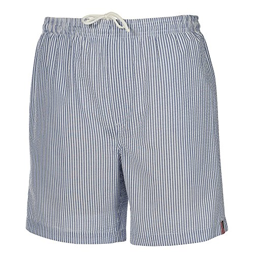 Weekender Men's Suffolk Seersucker Swim Suit Trunk Royal XLarge