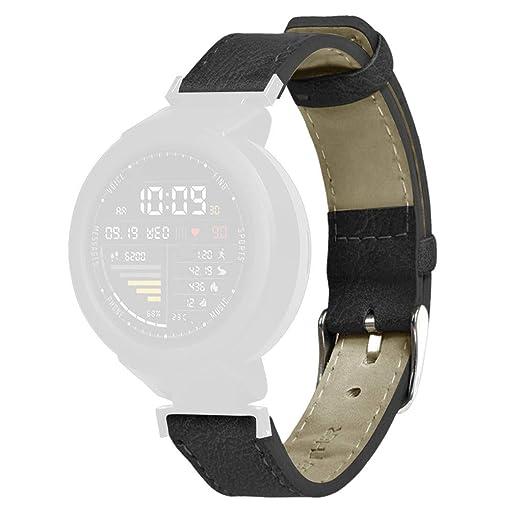 Correa de piel bloatboy para reloj de pulsera Xiaomi Huami ...