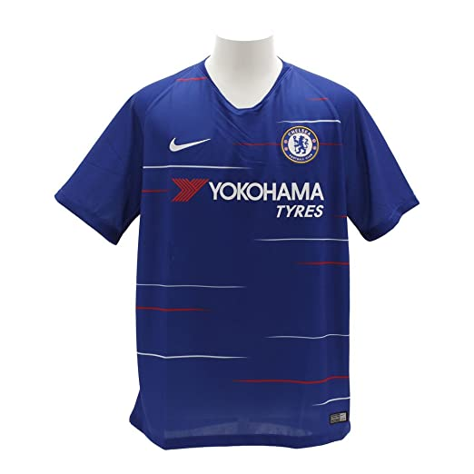 d2c097a4cfd Amazon.com  NIKE 2018-2019 Chelsea Home Football Shirt  Sports   Outdoors