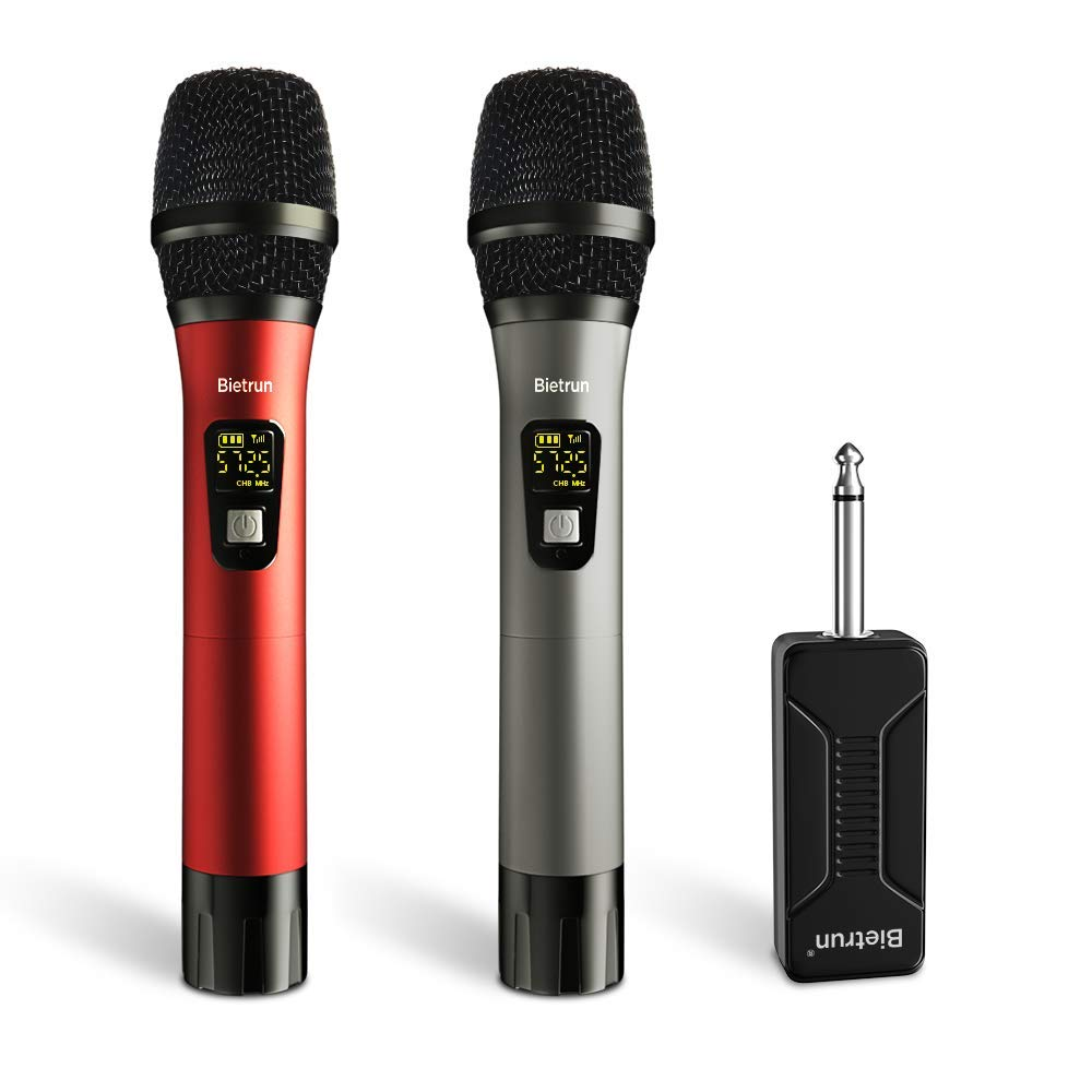 TechAdict ️ Wireless Microphone, UHF Wireless Dual ...