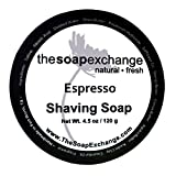 Shaving Soap - Espresso - Artisan Made in U.S.A - TSE for Men by The Soap Exchange