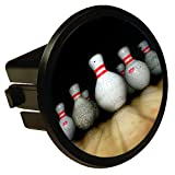 Bowling Pins Round Hitch Cover Hitch Plug