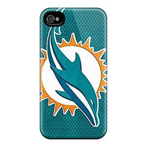 DustinFrench Iphone 6plus Excellent Cell-phone Hard Covers Allow Personal Design Vivid Miami Dolphins Pictures [OuC11059JsJj]