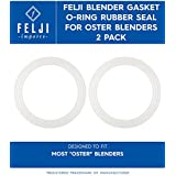 Felji Blender Gasket O-Ring Rubber Seal for Oster Blenders 2 Pack