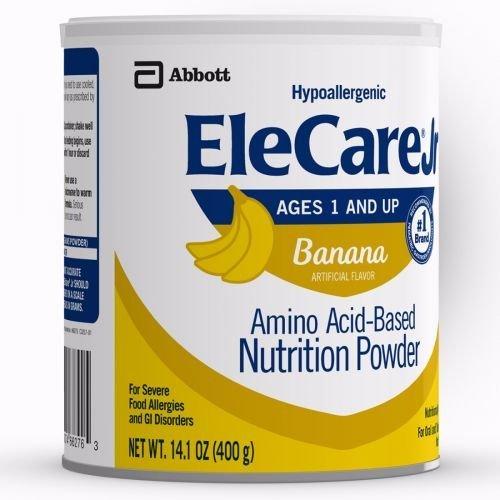 EleCare Jr Toddler Formula - Banana - Powder - 14.1 Ounce - 1 Can