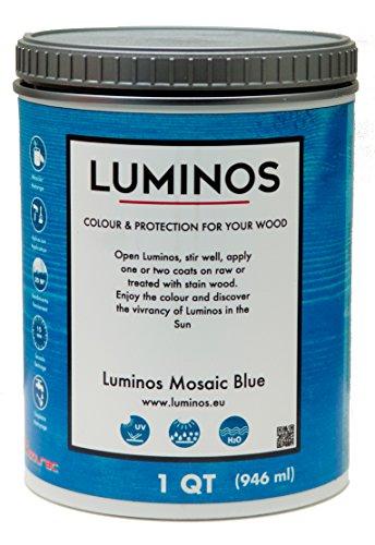 Luminos LUM1104 – Wood Finish Protector – Color Mosaic Blue - Quart