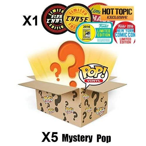 11700317338f5d 70% de réduction Funko POP! Mystery 6 Pack w/ 1 Random Limited Edition