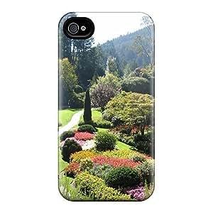 Tough Iphone DBl Case Cover/ Case For iPhone 5/5S(come Walk Through My Garden)