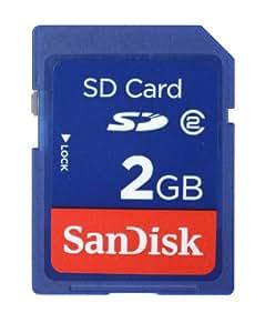 SanDisk 2 GB SD Flash Memory Card SDSDB-002G-A14F