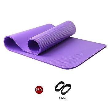 de 121PERFORM gruesa de alta densidad con bolsa de almacenamiento Esterilla antideslizante para yoga gimnasia multiusos para pilates acampadas