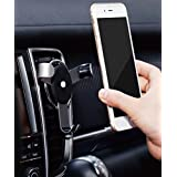 Shengpeng Car Phone Holder,Gravity Auto Lock Air Vent Car Phone Mount Holder One-Touch Design for iPhone 8 X 8 Plus 7 Samsung S9 S8 Huwei LG HTC Nexus Nokia and More Smartphone