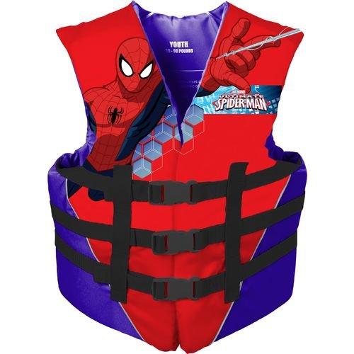 Marvel Spiderman Youth Life Jacket (50-90 Lbs.)