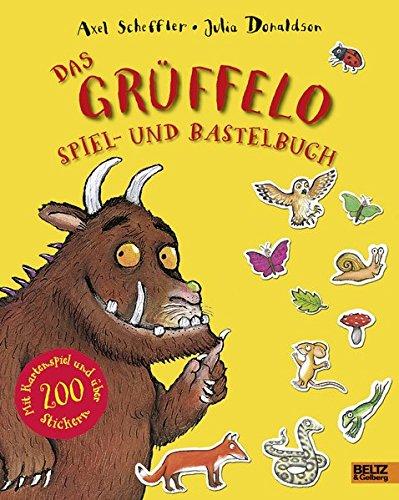 Das Grüffelo Spiel- und Bastelbuch: Mit Kartenspiel und über 200 Stickern