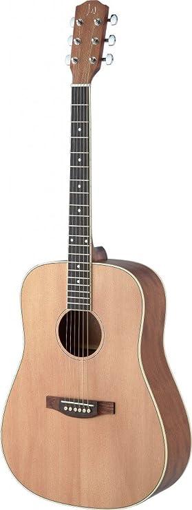 James Neligan ASY-D LH guitarra acustica electrica modelo para zurdos