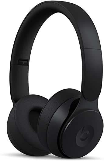 Beats Solo Pro Wireless Noise Cancelling On-Ear Headphones - Apple H1 HeadphoneChip, Class 1 Bluetooth, Active Noise Cancelling, Transparency, 22 Hours OfListening Time - Black