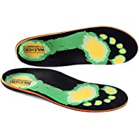 Ortopedia plantillas para pies Soporte de Arco–Inserciones de Zapato Plano Para Pie y talón Alivio del Dolor, over-pronation
