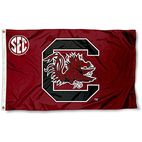College Flags and Banners Co. USC Gamecocks SEC 3x5 -