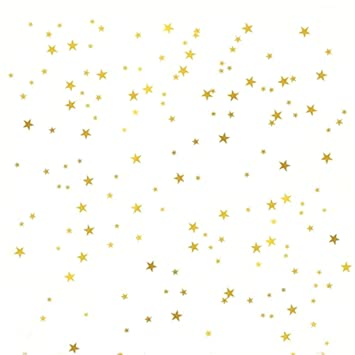 Amazon Com Gold Stars Wall Decal 130 Decals Stars Pattern Diy