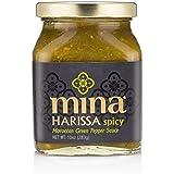 Mina Green Harissa Pepper Sauce, 10 Ounce
