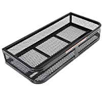 Goplus® Universal Front Atv Hd Steel Cargo Basket Rack Luggage Carrier