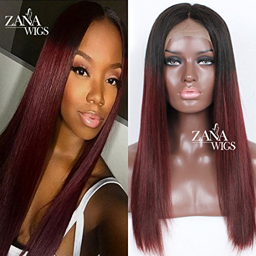 ZANA Human Hair Lace Front Wigs with Baby