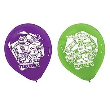 6-Piece Teenage Mutant Ninja Turtles Balloons, Multicolored ...