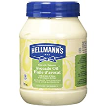 Hellmann's Avocado Oil with a hint of Lime Mayonnaise Type Dressing, 710ml, 0.757 kg