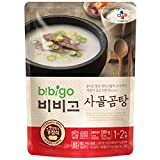 Korean Bibigo Pre-made Packaged Tofu Kimchi/Soybean Paste Stew 16oz (Beef Stock Soup, 1 Pack)
