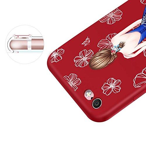 GHC Cases & Covers, Für iPhone 6 Plus und 6s Plus, gemalt Diamante Embossment Volle Deckung Schutz-rückseitige Abdeckungs-Fall