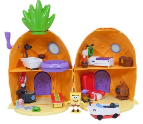 Spongebob Squarepants Pineapple House Playset With Light & Sound