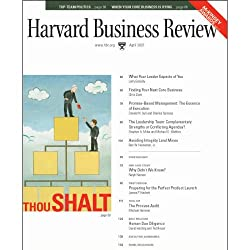 Harvard Business Review, April 2007