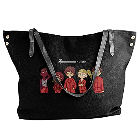 Misfits Tote Bag For Women Black - Ipod Redskin