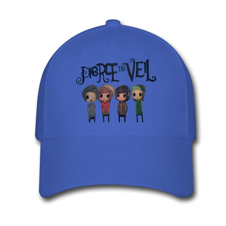 Pierce The Veil Band Billboard Cute logo Custom Printing Baseball Caps Sun Hats