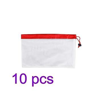 BESTOMZ 10 unids 8 pulgadas de rejilla maleable bolsas de ...