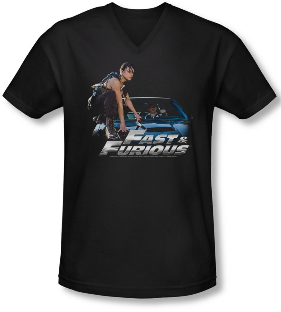 Fast Furious S Car Ride Vneck Tshirt