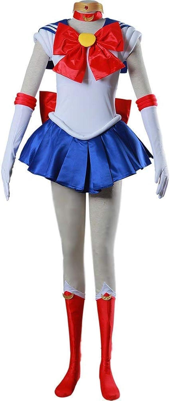 Amazon.com: Traje de pelea para mujer Rin Sailor Moon ...
