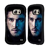 Official HBO Game Of Thrones Jon Snow Valar Morghulis Hybrid Case for Samsung Galaxy S6 edge+ / Plus