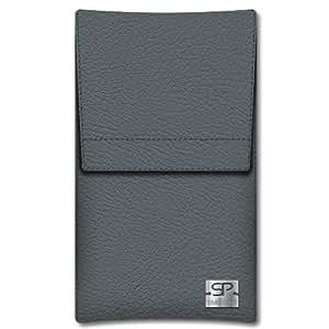 SIMON PIKECáscara Funda de móvi Sidney 01 gris pour Sony Xperia arc S cuero artificial