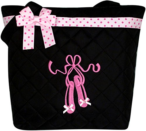 Ballet Embroidered Tote - 2