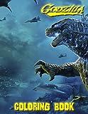 Godzilla Coloring Book: Fun Coloring Books For