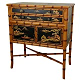 Oriental Furniture Ching Two Drawer Cabinet
