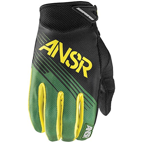 Answer Racing Syncron Youth Boys Off-Road Motorcycle Gloves - Forest Green / Medium