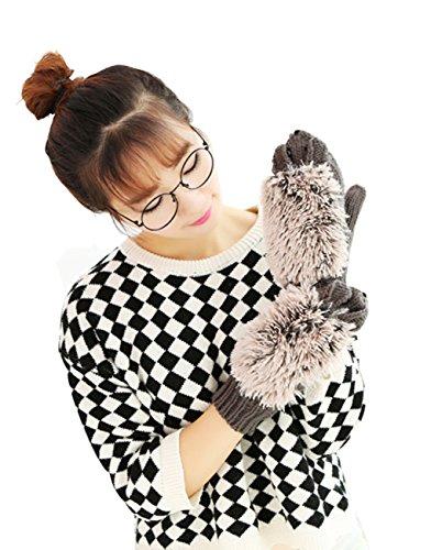 Thicken Winter Cartoon Hedgehog Knitted