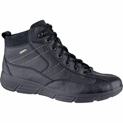 Jomos Herren Leder Winter Boots Schwarz, Sympatex, Schurwollfutter, Warmes Fußbett, Extra Weite, 2539115/40 Schwarz