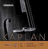 D\'Addario Kaplan Cello Single C String, 4/4 Scale, Light Tension